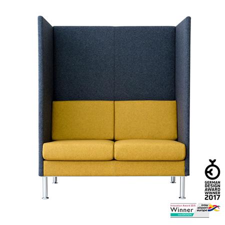 manhattan highback loungesofa mit hohem r cken smv. Black Bedroom Furniture Sets. Home Design Ideas
